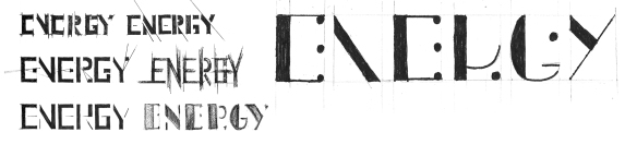Type_Conceptualization_Energy_Synergy_Pencil_Ink